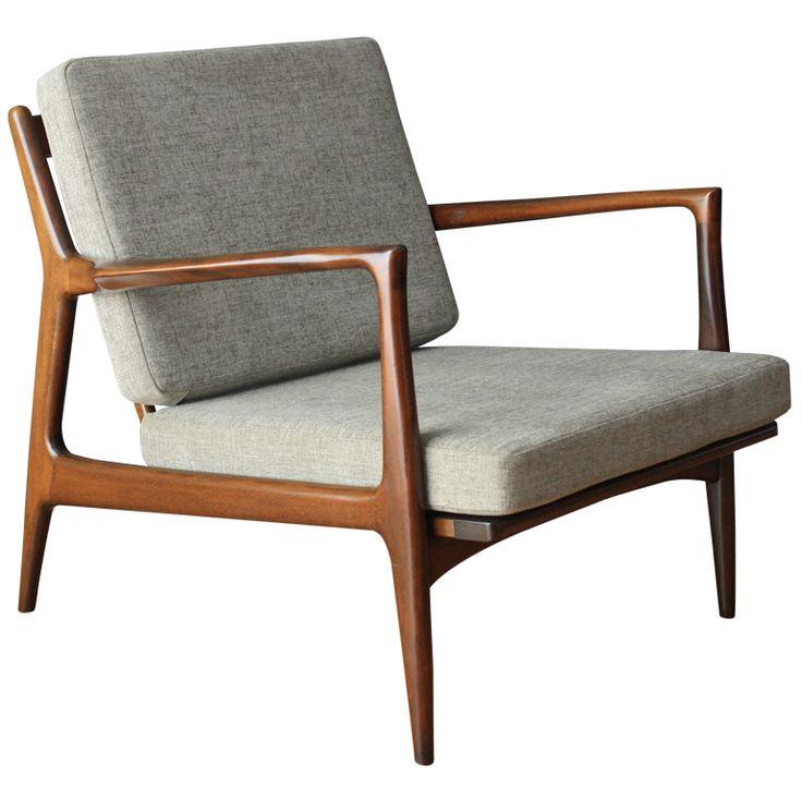 danish furniture danish modern selig lounge chair HOXWEME