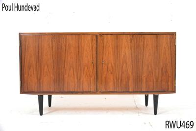 danish furniture low short sideboard | poul hundevad UFRYZFU