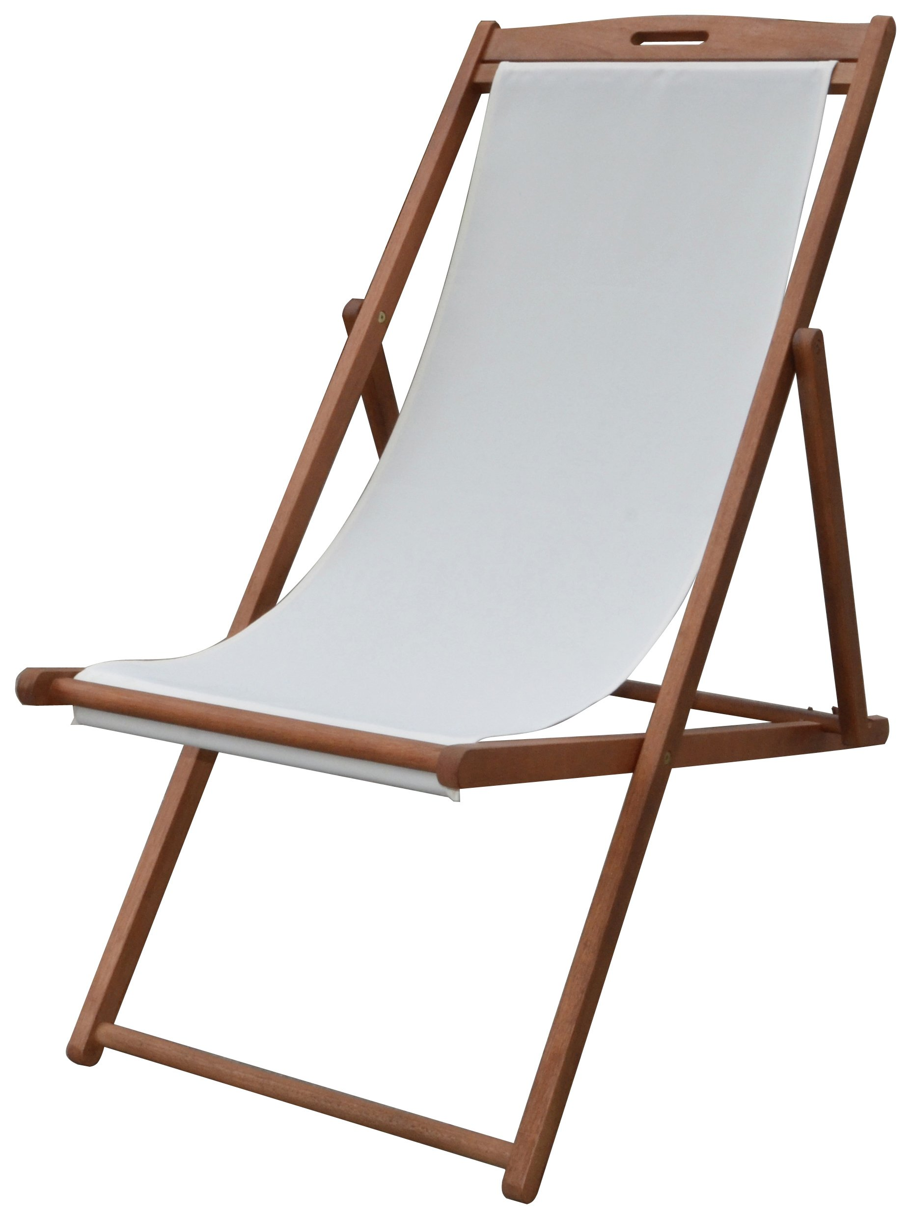 deck chairs home deck chair - cream YKYWTGP
