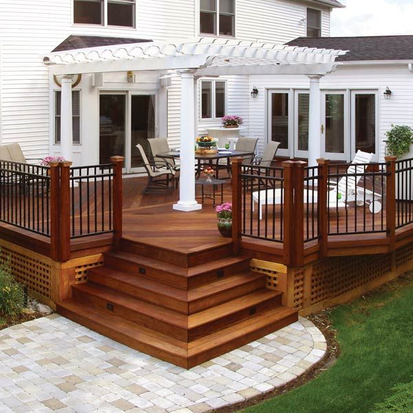 deck designs 20 beautiful wooden deck ideas for your home XHJGRGQ