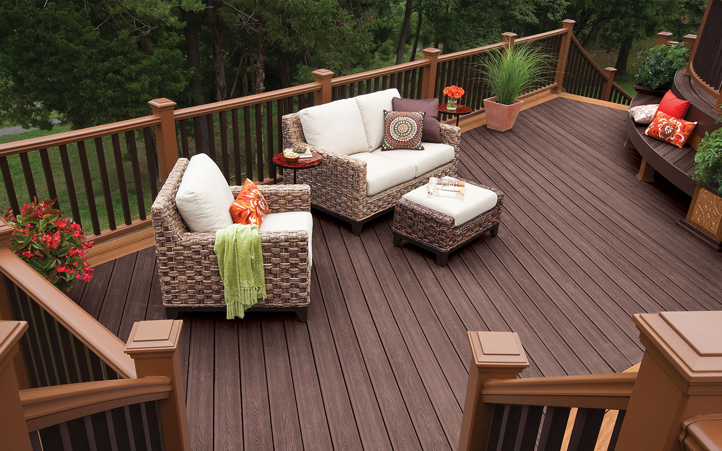 deck designs the standard rectangular deck design allows for maximum use of space and LVHZSEG