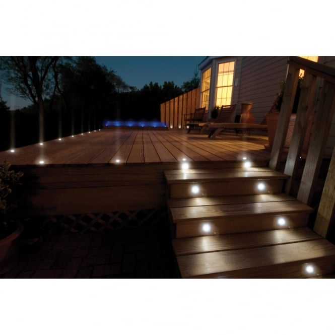 decking lights sealrange sd30 led decking walkover plinth lights ip68 10 pack MOXRYQB