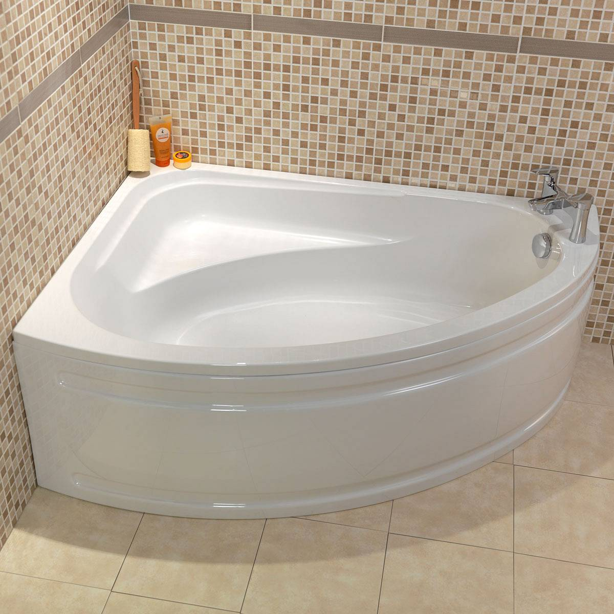 decorating your bathroom with corner baths LJIWVTP