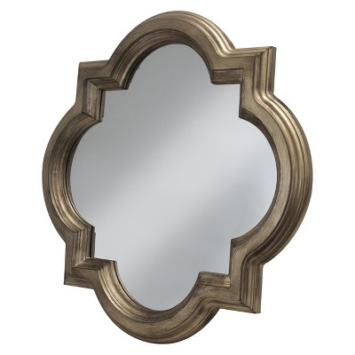 decorative wall mirrors clover decorative wall mirror gold - threshold™ ZSQUSWW