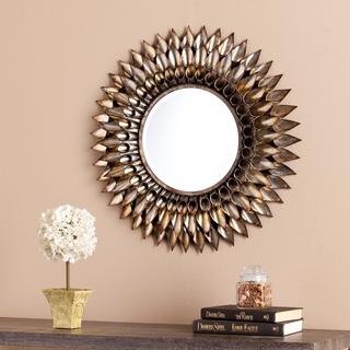 decorative wall mirrors harper blvd letterman round decorative wall mirror YZGGYLQ