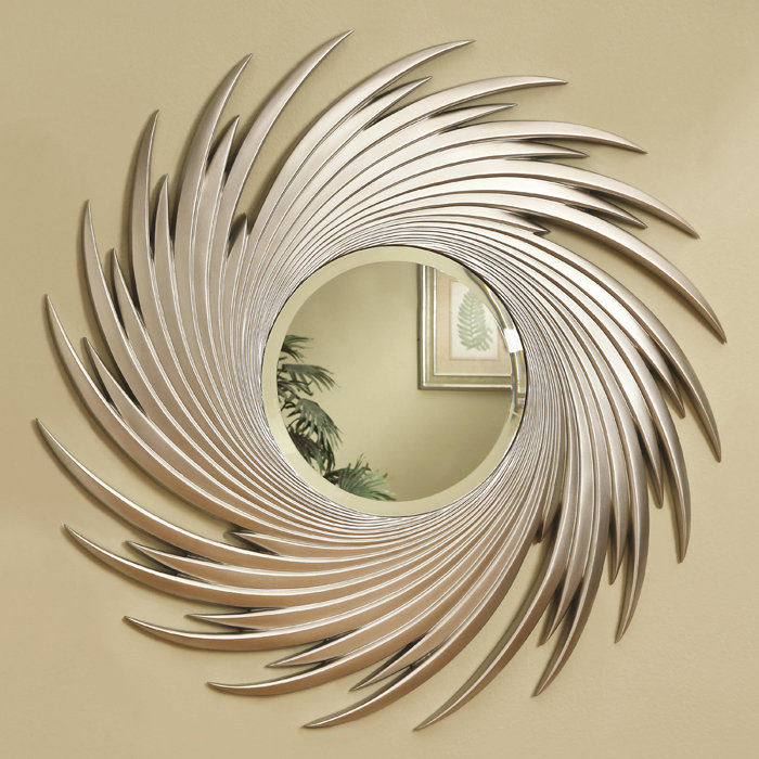 decorative wall mirrors metal wall decor with mirror NRQAEIF