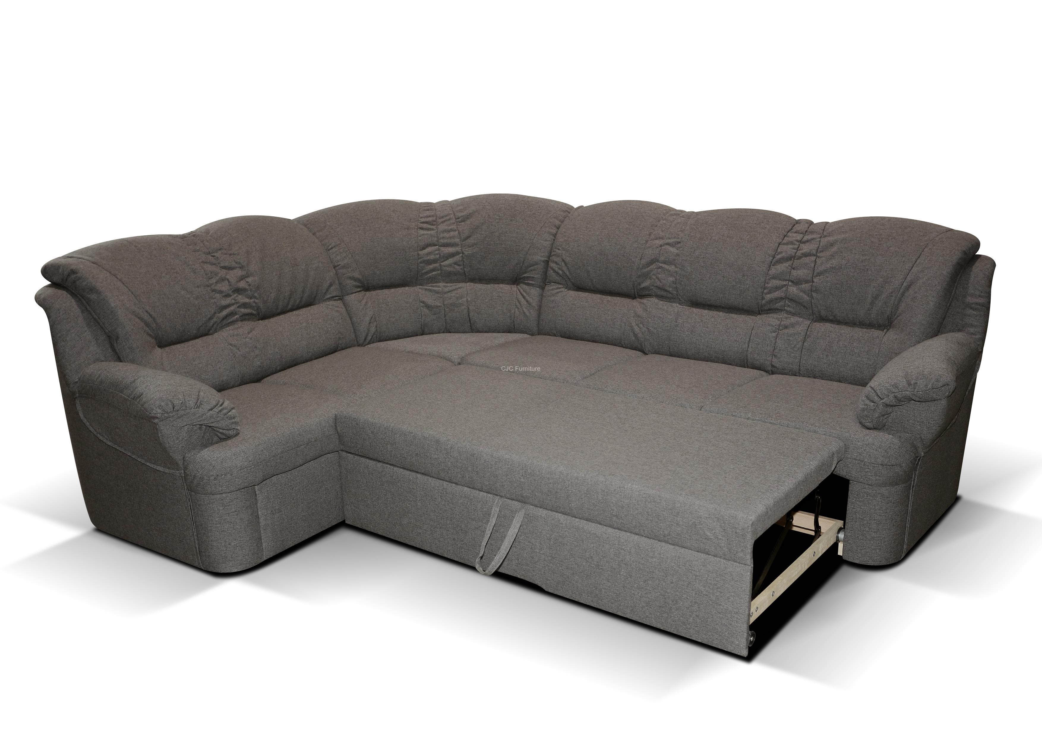 delos corner sofa bed - left handed CNVREHC