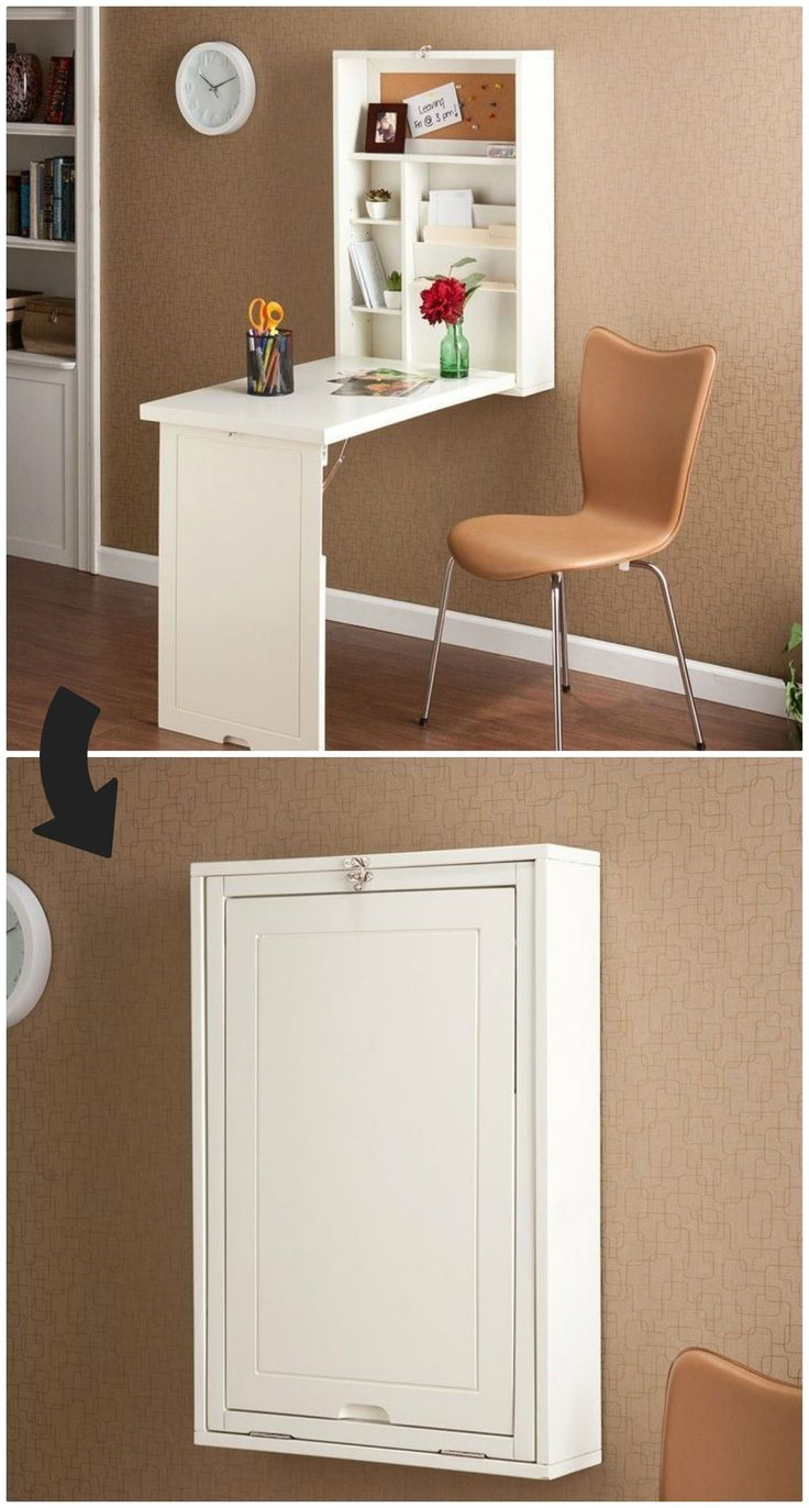 desks for small spaces ten space-saving desks that work great in small living spaces DKIJWJW