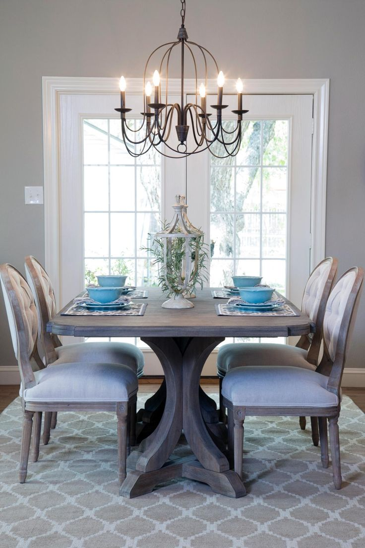 dining room chandeliers a 1940s vintage fixer upper for first-time homebuyers. metal chandelierdining  table ... LDURYYR
