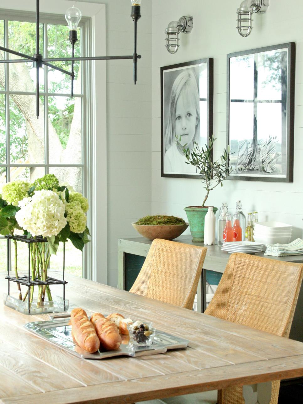 dining room decor 15 dining room decorating ideas | hgtv CYQTSDV