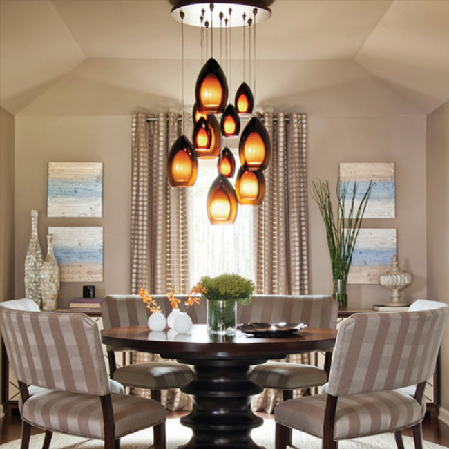 dining room lighting ... https://www.lumens.com/fire-multi-light- ... DKIVSHF