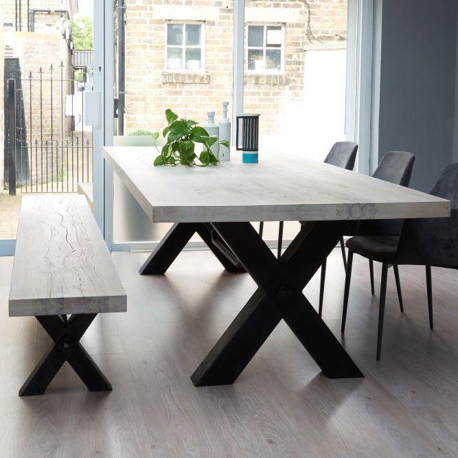 dining tables bolt solid wood u0026 metal dining table more JMJXJZD