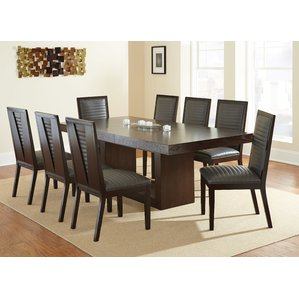 dinning table antonio extendable dining table KBTXOGY
