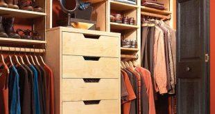 diy closet storage: how to triple your closet storage space IAGXFIK