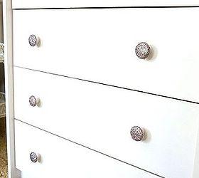 diy dresser knobs glitter mod podge budget, crafts, painted furniture GBUHDVU