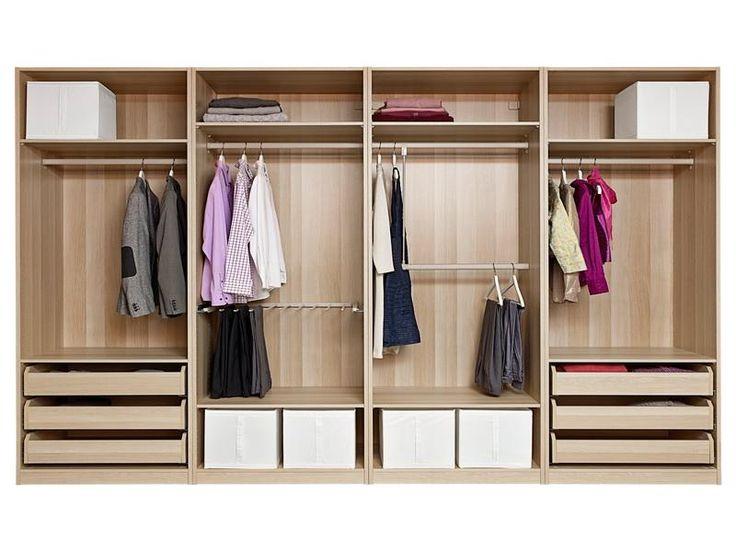 diy wardrobes diy walk-in closet systems | 18 photos of the ikea pax closet system WXNAUZA