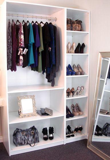 diy wardrobes diy wardrobe w/ ikea shelves? smaller version for dress up clothes KOVOUPS