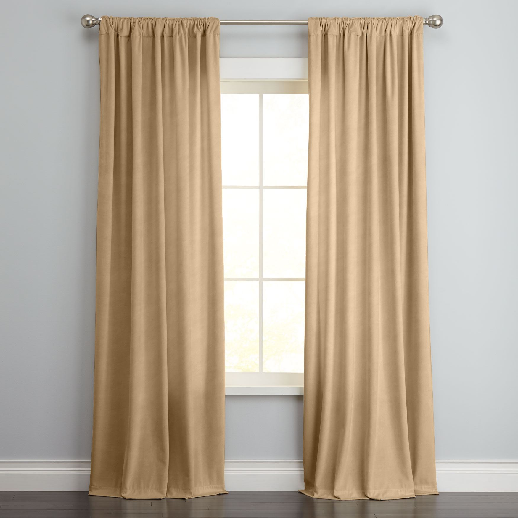 drapes and curtains venice velvet window panel NDQLQWH