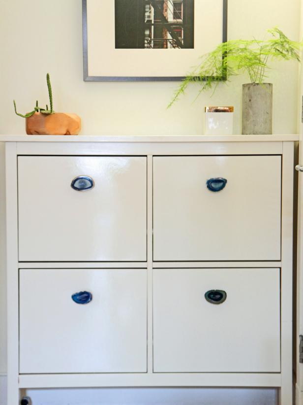 dresser knobs dress up an plain dresser with agate or other gemstone knobs. CFWLFQS