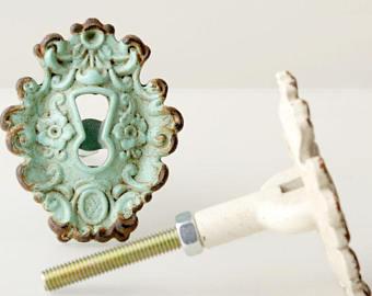 dresser knobs retro american knobs french mediterranean small knobs drawer knobs metal  knobs door SFJZGSY