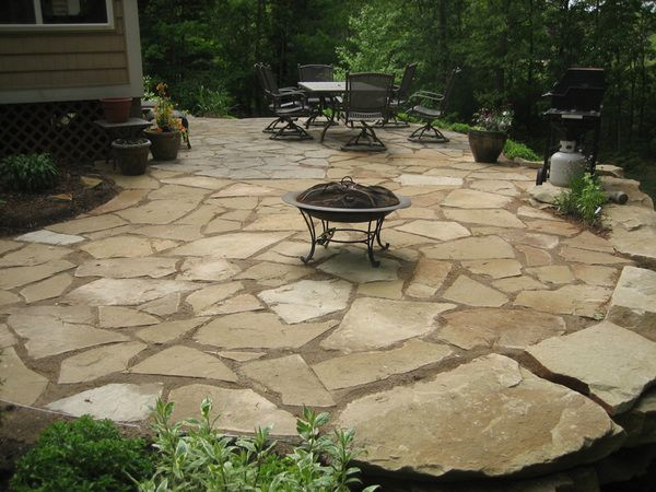 elegant stone patio 17 best ideas about stone patios on pinterest stone WAIDUUH