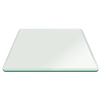 fab glass and mirror square clear glass table top 48 inch tempered AIGVRIJ