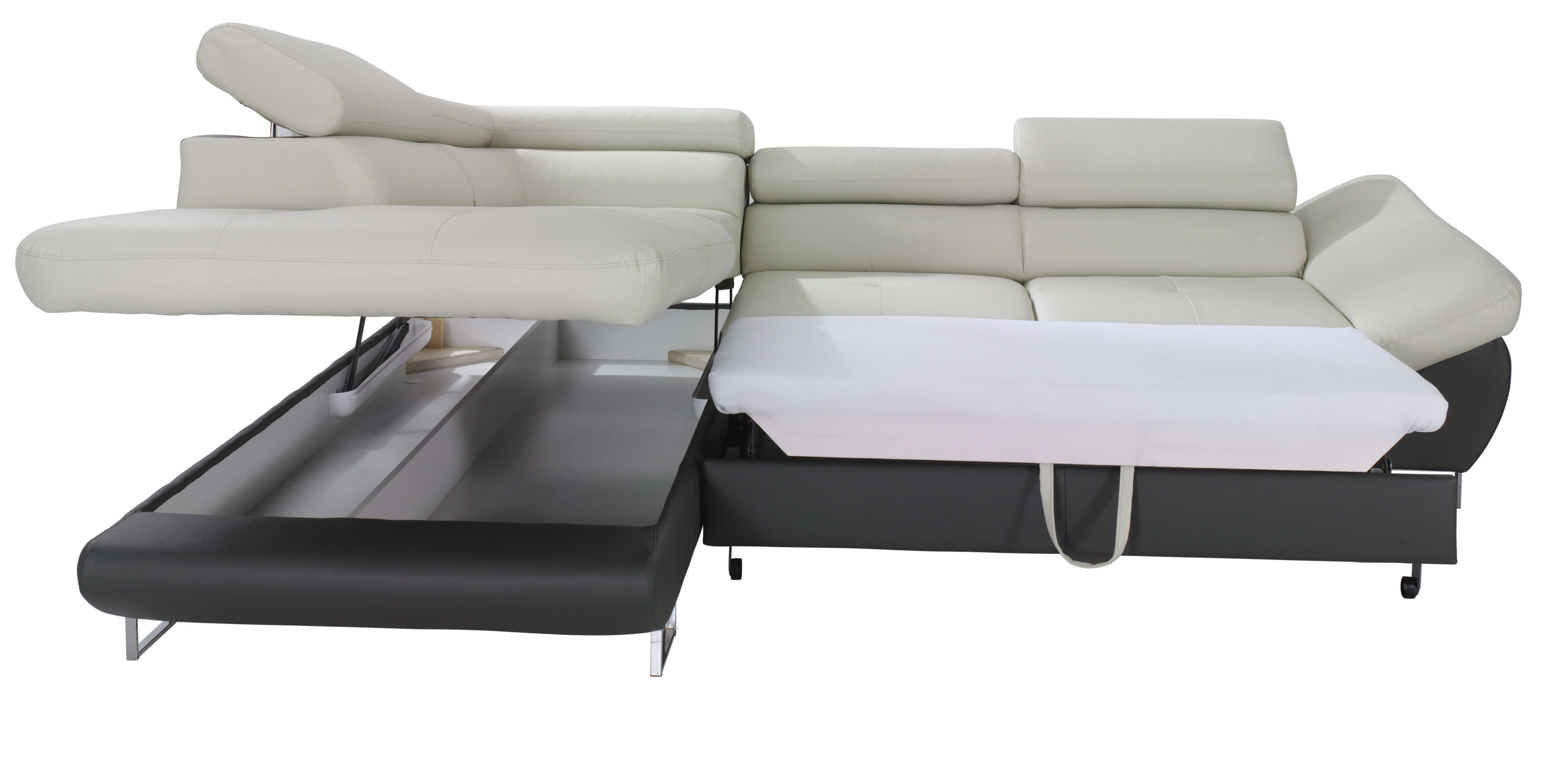 fabio sectional sofa sleeper with storage | creative furniture BCVTUWA