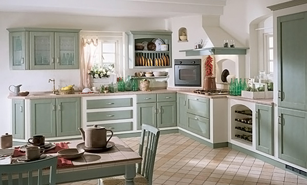faded green color15 wonderfully made vintage kitchen designs home design  lover BXSHEGI