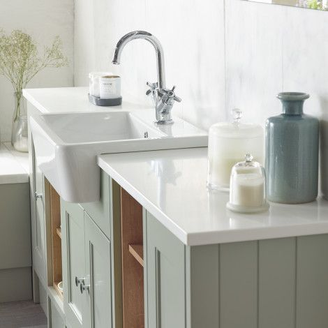 fitted bathrooms burford pebble grey fitted bathroom furniture | roper rhodes RXBYKIG