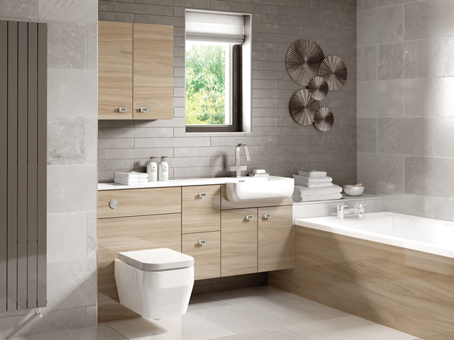 fitted bathrooms fitted bathroom - urban gloss elm ADMPAFO
