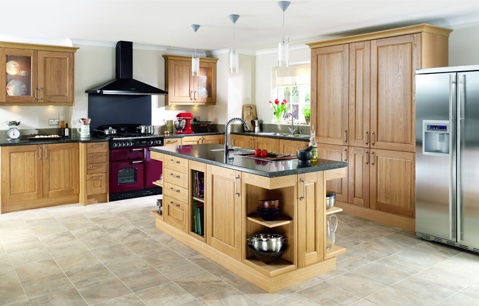 fitted kitchen ... modern fitted kitchens ... WJBVWBP