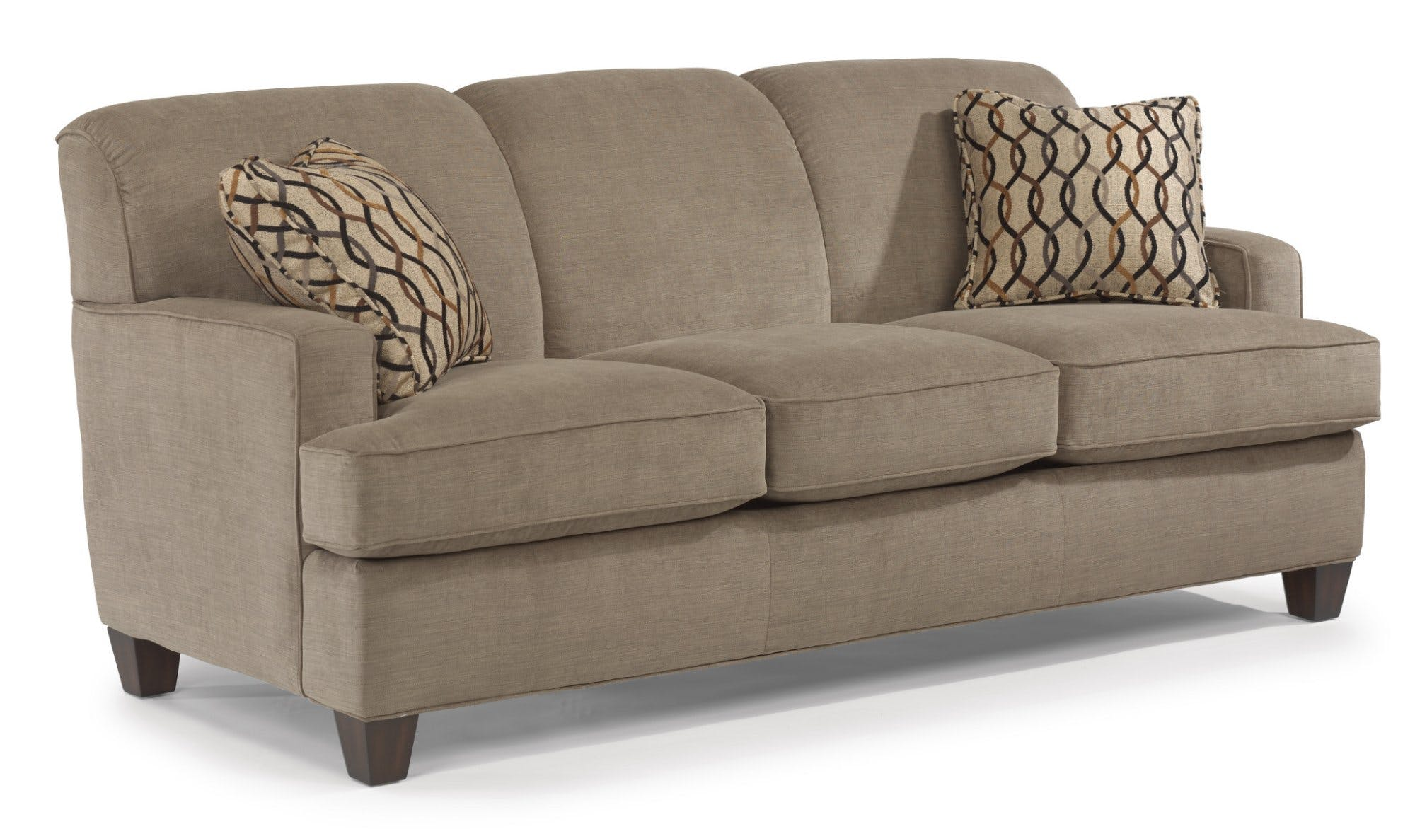 flexsteel sofas flexsteel fabric sofa 5641-31 EYQHFVN