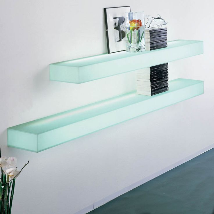 floating glass shelves wall mount long strong glass material modern design  large ICJMCBQ