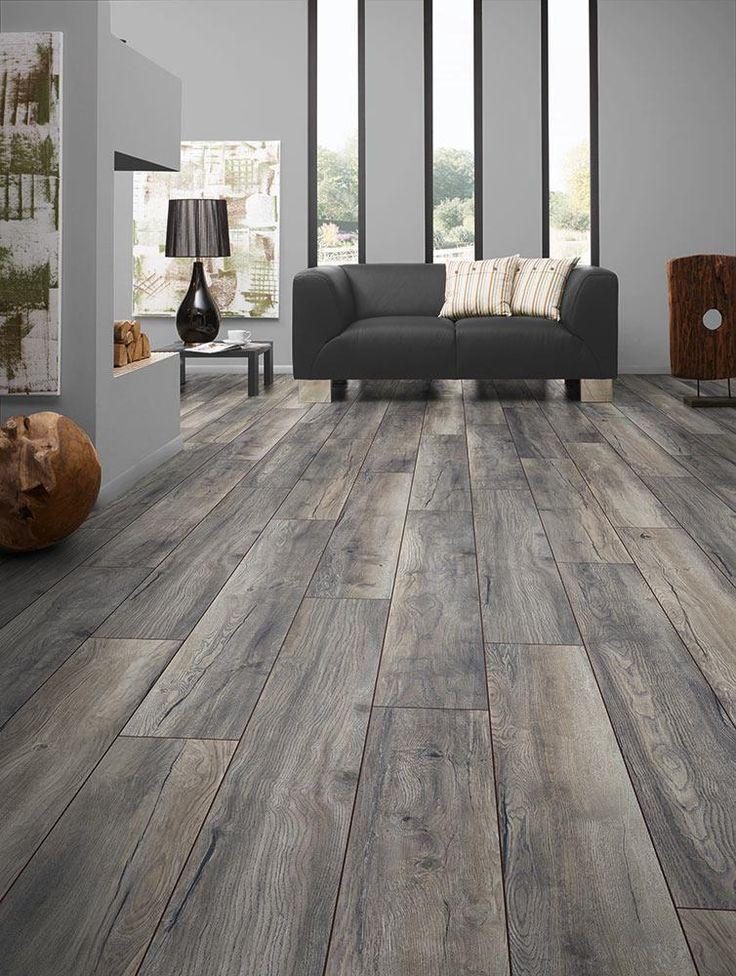flooring ideas builddirect - laminate - my floor 12mm villa collection - harbour oak grey IMPKBPO