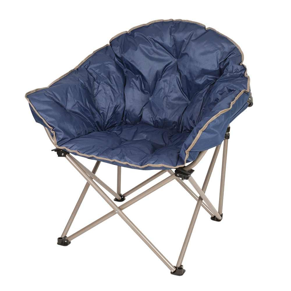 folding camping chairs club chair - navy ZNQHSCI