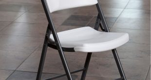 folding chairs lifetime classic commercial folding chair, set of 4 - walmart.com OQPUIJA