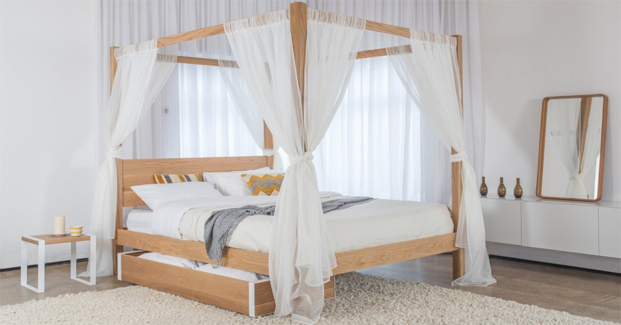 four poster bed - classic PKEGMFP