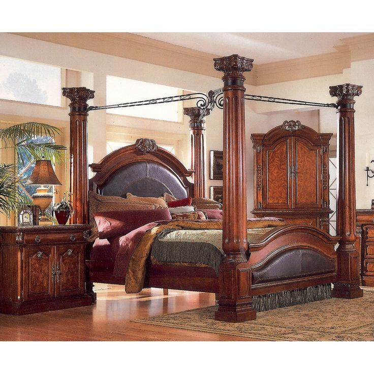 four poster bed four poster king bed | queen 4 poster bed3218a-10 - home furniture | RBXKLAV