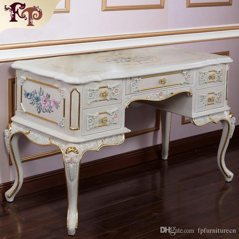 french provincial furniture -luxury european royalty classic bedroom  furniture set - luxury PVNJIZI