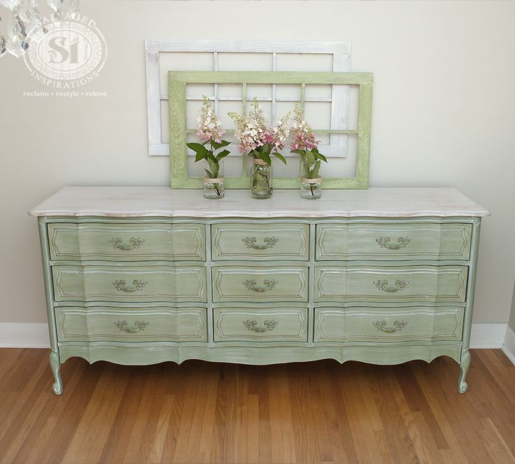 French Provincial Furniture Shabby Chic Painted With White Wash Tutorial Glronnp
