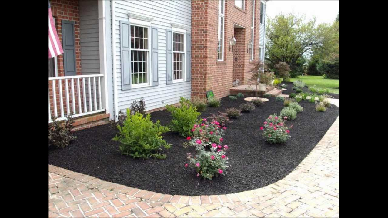 front yard landscape ideas ryan s landscaping hanover pa RHRGLMK