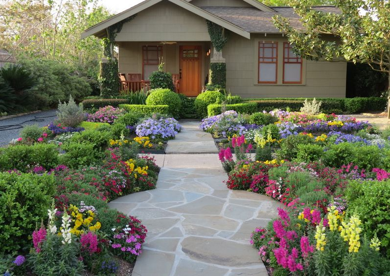 front yard landscaping ideas 6. simple ease. DHQLCXL