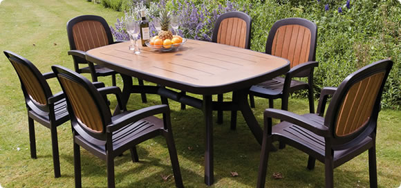 Plastic Garden Furniture – Cheap in Price and Easy to Maintain