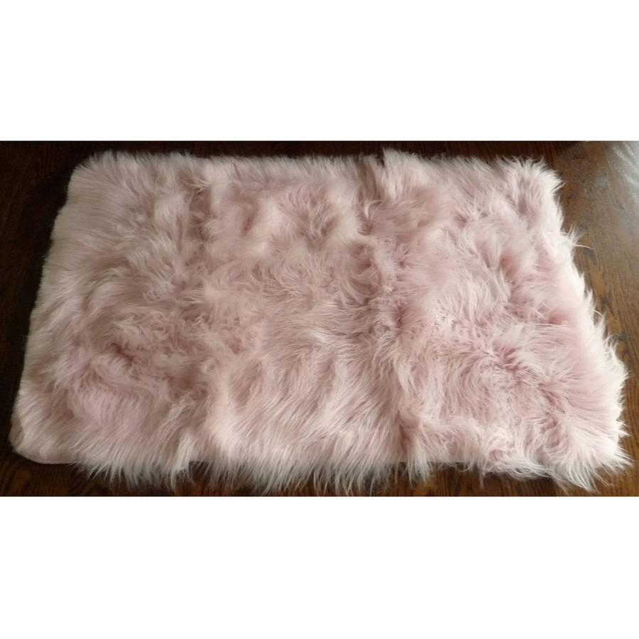 fur rugs home dynamix silky sheepskin fur rug, pink UVMOLXM