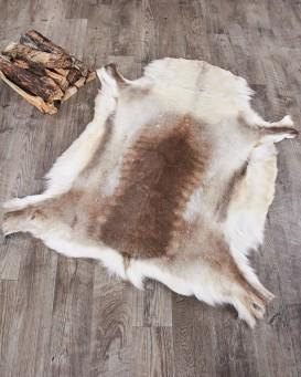fur rugs reindeer hide rug MYFDWLB
