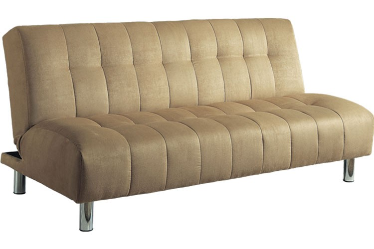 futon sofa beds ... chelsea_modern_convertible_futon_couch_sleeper_beige_lrg chelsea  microfiber traditional upholstered futon sofa bed BNQMFPJ