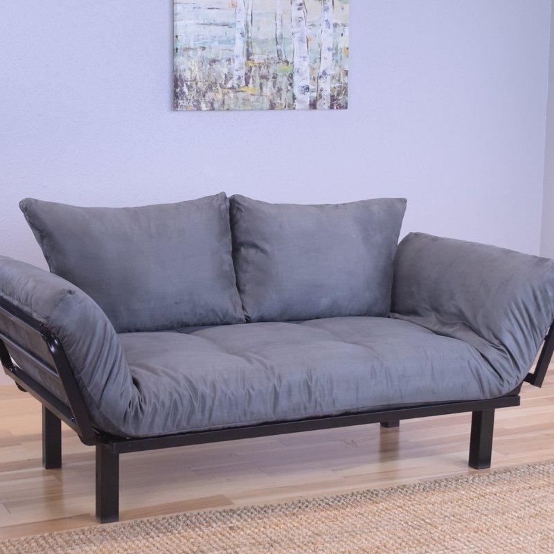 Ways to style futon sofa bed