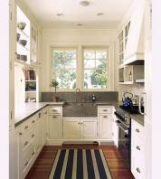 galley kitchen efficient galley kitchens SKLSQTU