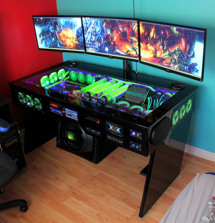 gaming computer desk pc game mods OLXDZPO