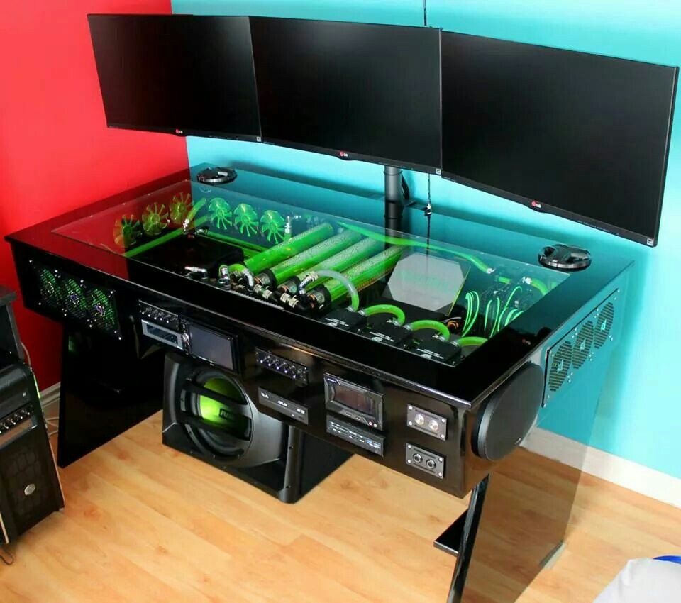 gaming pc desk gaming computer desk pic the best one goodworksfurniture 29879